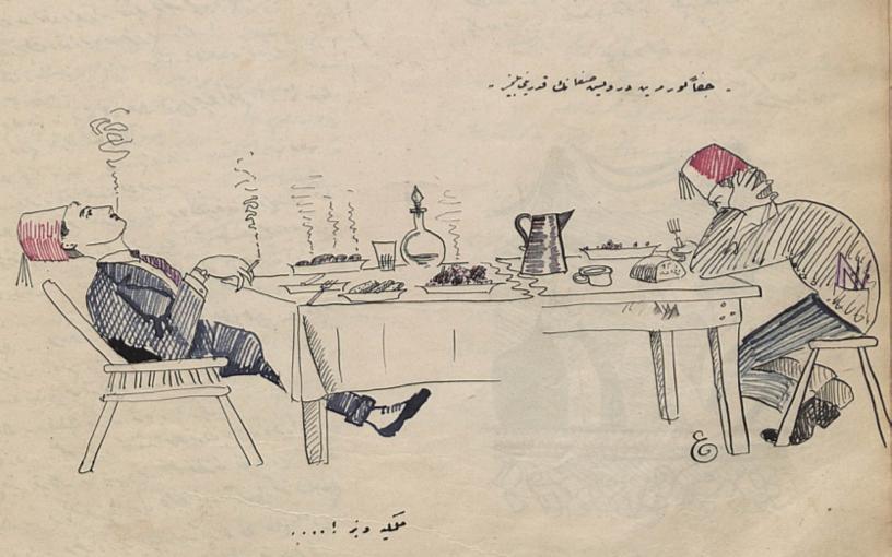 (İsimsiz, Şaka Dergisi, Sayı 8, 3 Haziran 1920)